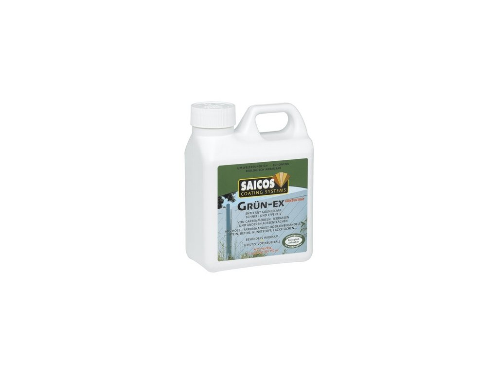 Saicos odstraňovač zeleného povlaku (Velikost balení 5 l)