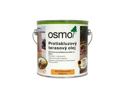 Osmo Protišmykový terasový olej 0,75l bezfarebný 430