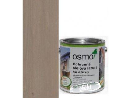 Osmo Ochranná olej. lazúra EFEKT 2,5l strieborná grafit 1142  + darček v hodnote až 7,5 EUR