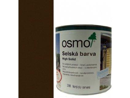 Osmo Sedliacka farba 25L 2607 tmavo hnedá  + darček v hodnote až 7,5 EUR