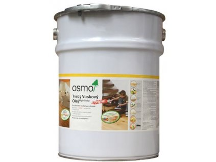 Osmo tvrdý voskový olej SILNO protišmykový 10l Bezfarebný 3089  + darček v hodnote až 7,5 EUR