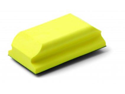 Ručný držiak na brúsny papier, suchý zips Velcro, penová hmota, veľ. 70 x 125 mm