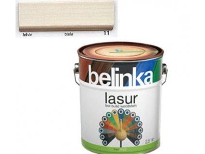 Belinka LASUR 11 biela 0,75 L