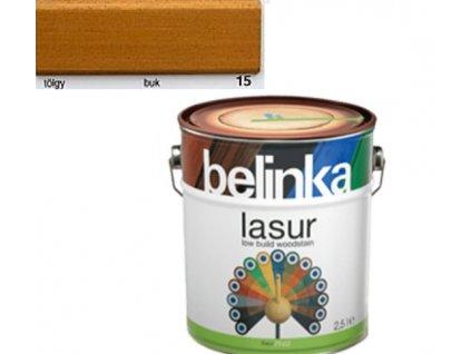 Belinka LASUR 15 buk 0,75 L