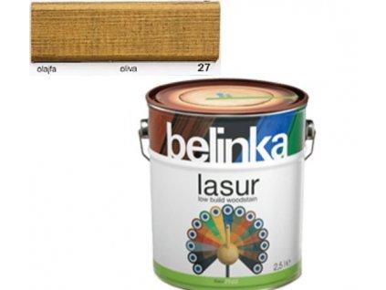 Belinka LASUR 27 oliva 2,5 L