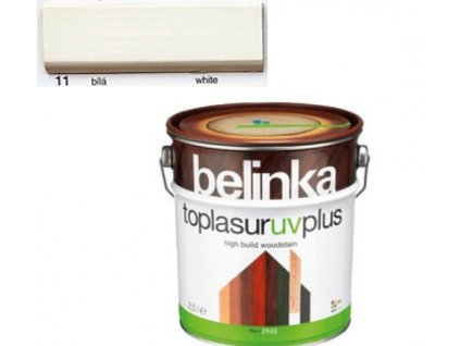 Belinka Toplasur UV PLUS 11 biela 2,5 L