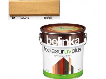 Belinka Toplasur UV PLUS 12 bezfarebná 0,75 L