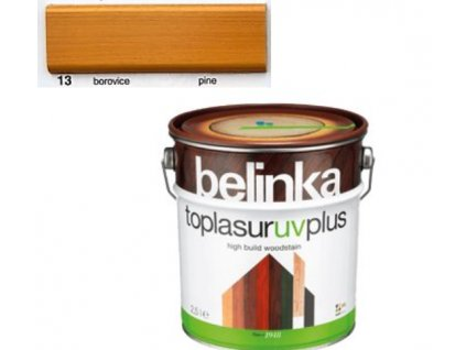 Belinka Toplasur UV PLUS 13 borovice 0,75 L