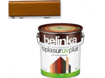 Belinka Toplasur UV PLUS 15 buk 0,75 L