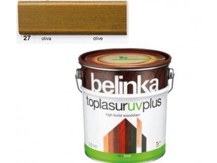 Belinka Toplasur UV PLUS 27 oliva 0,75 L