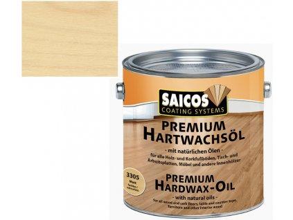 Saicos tvrdý voskový olej Premium BEZBARVÝ LESKLÝ 3035 (Velikost balení 25 l)