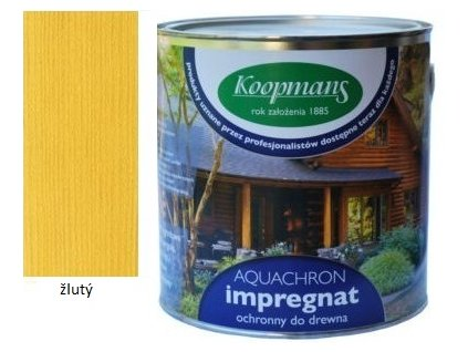 Koopmans Aquachron 5l žltý  + darček podľa vlastného výberu