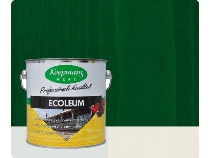 Koopmans ECOLEUM UV 206 tmavo zelený 1l