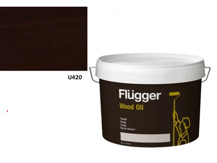 Flügger Wood Oil Aqua (predtým Olej Aqua) 3l odtieň U420 tmavá červeň
