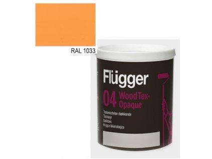 Flügger Wood Tex Aqua 04 Opaque (predtým 98 Aqua) - lazúrovací lak - 0,7l odtieň RAL 1033