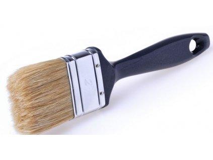 Plochý štetec SHADOW, štetina na syntetické farby, laky, lazúry, veľ. 30 mm