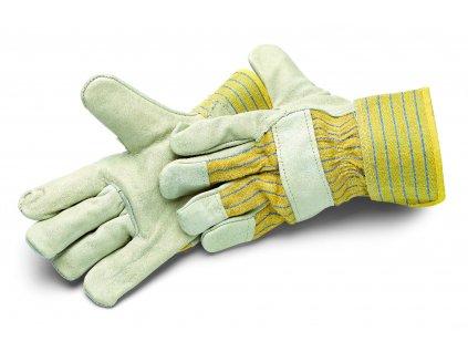 Rukavice WORKSTAR PRO, najjemnejšej svetlá koža, s bavlneným chrbtom, veľ. 10,5 / XL