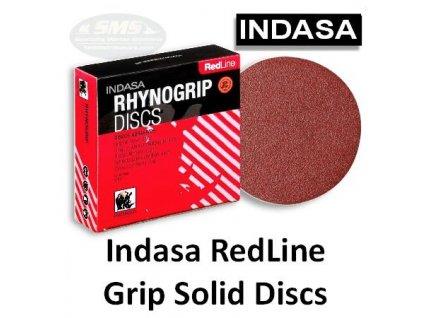 Indasa Rhynogrip Disc - brúsny papier suchý zips - zrnitosť 100, D: 125mm