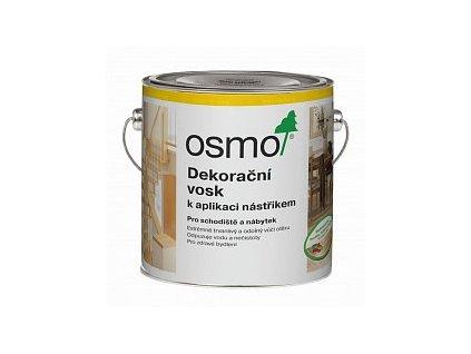 Osmo dekoračný vosk k aplikáciu striekaním 3084 2,5L Bezfarebný matný