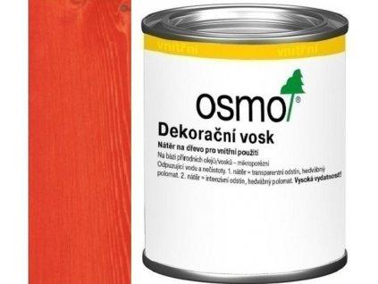 Osmo dekoračný vosk intenzívne odtiene 0,125L 3104 Červená