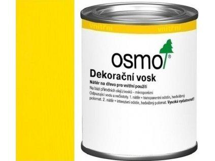 Osmo dekoračný vosk intenzívne odtiene 0,125L 3105 Žltá