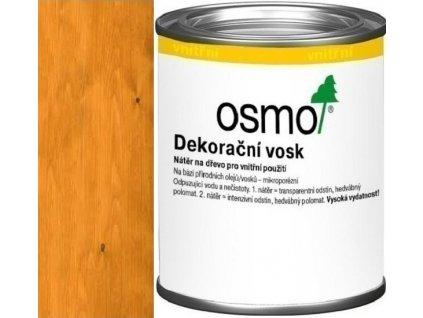 Osmo Dekoračný vosk transparentný 0,125L 3103 svetlý dub