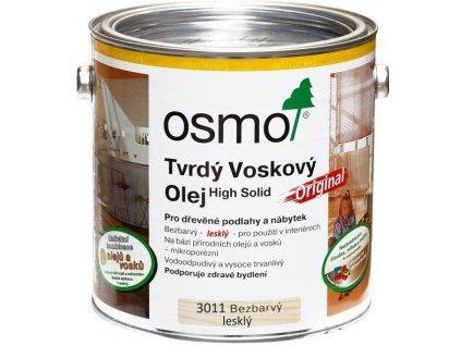 Osmo Tvrdý voskový olej ORIGINAL 0,125L 3011 bezfarebný, lesklý