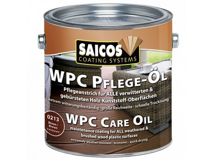 saicos olej na drevoplast wpc
