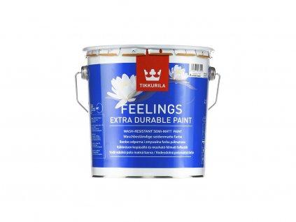 Tikkurila FEELINGS EXTRA DURABLE 2,7L (Protiplesňová vrchná akrylátová farba)