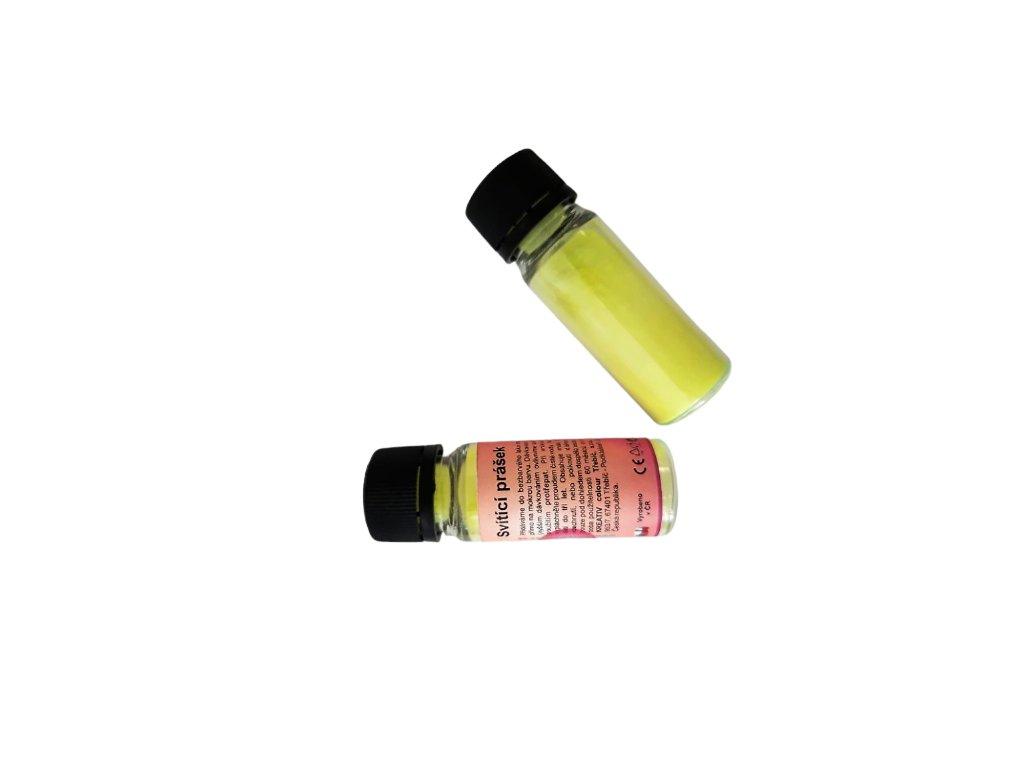 Svietiaci prášok v tme 2v1 PROFI neón žltá
