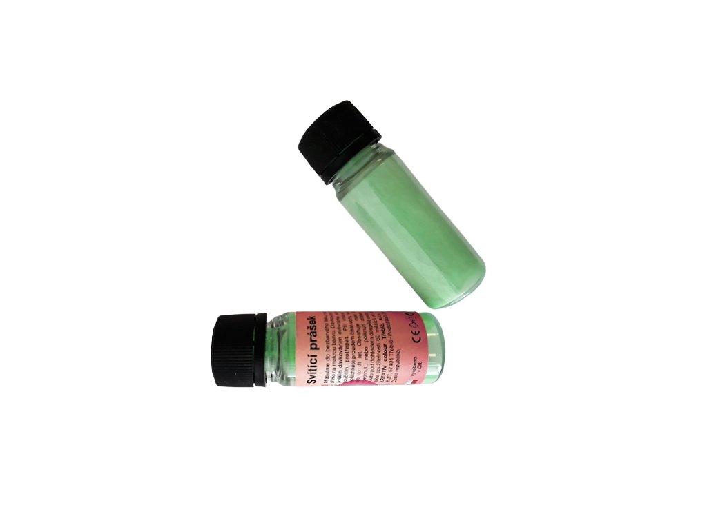 Svietiaci prášok v tme 2v1 PROFI neón zelená