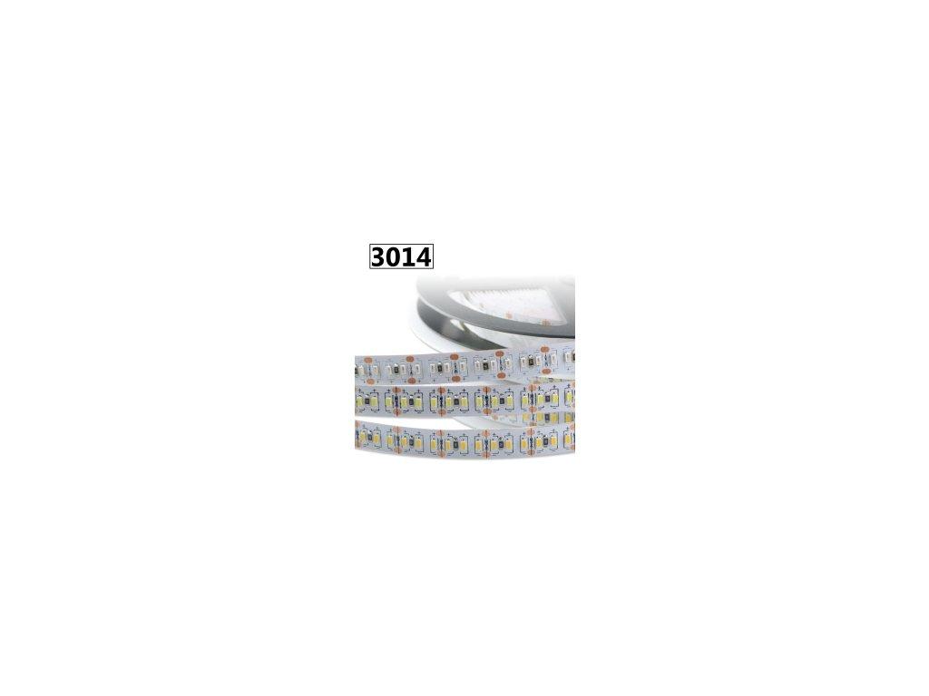 12W Led pásek SMD3014, 8mm, 120 čipů/m, neutrální bílá, 5m návin