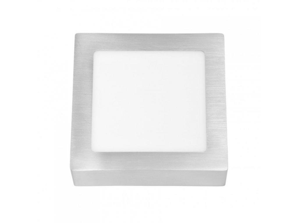 Stropní svítidlo přisazené, Bergamo - broušený hliník