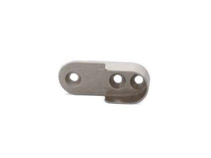 Držák LED šatní tyče a šatního oválu