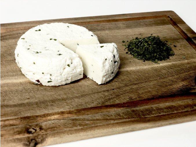 Kozí sýr s medvědím česnekem