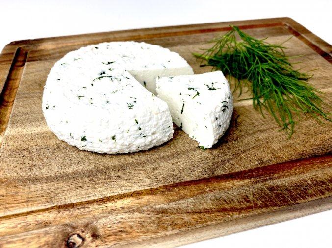 Kozí sýr koprový