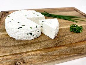 Kozí sýr pažitkový