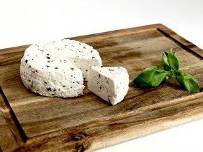 Kozí sýr bazalkový