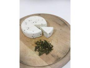 Kozí sýr se zeleným pepřem