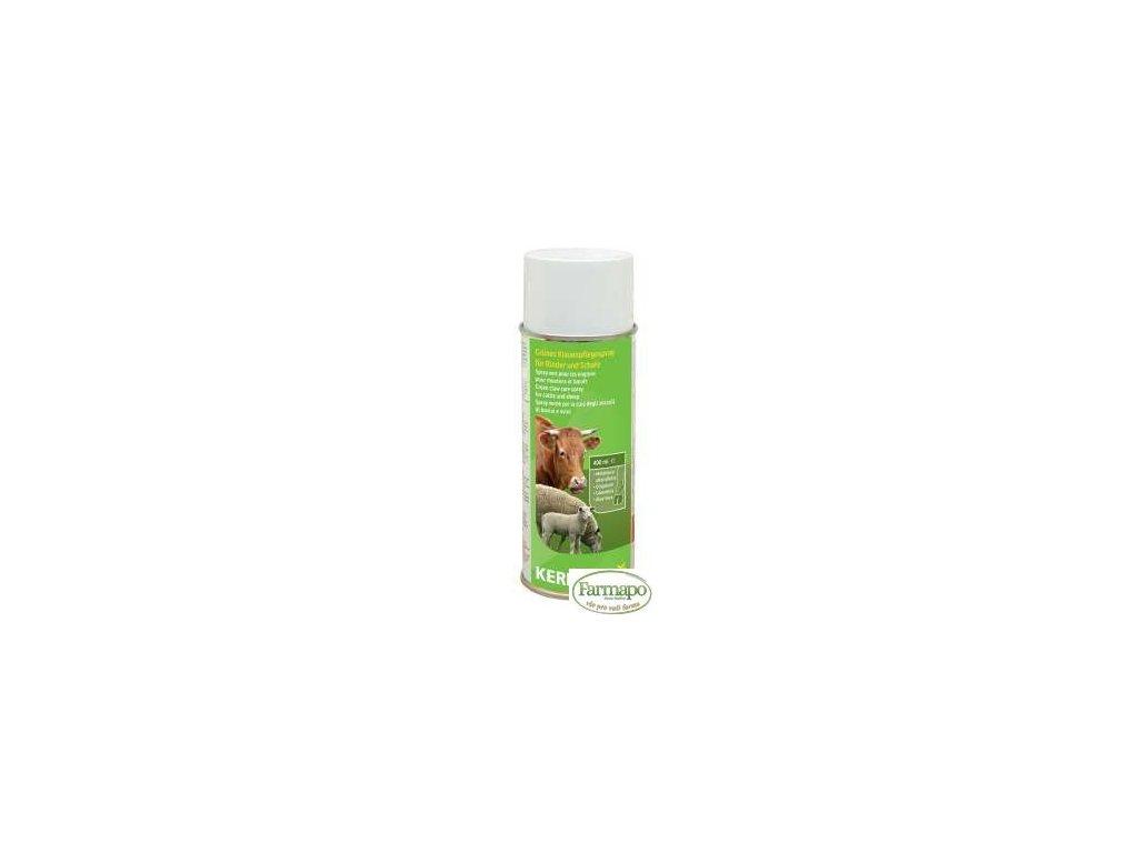 Zelený spray pro péči o paznehty
