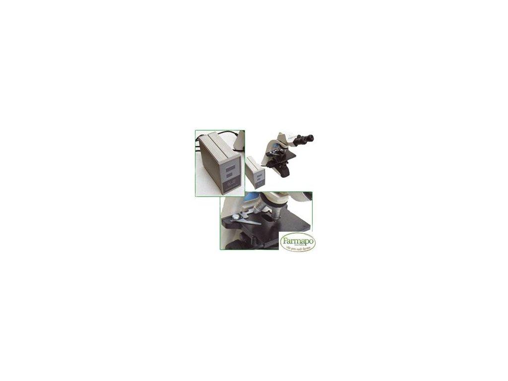 Vyhřívací destička pro mikroskopy + sada šroubů