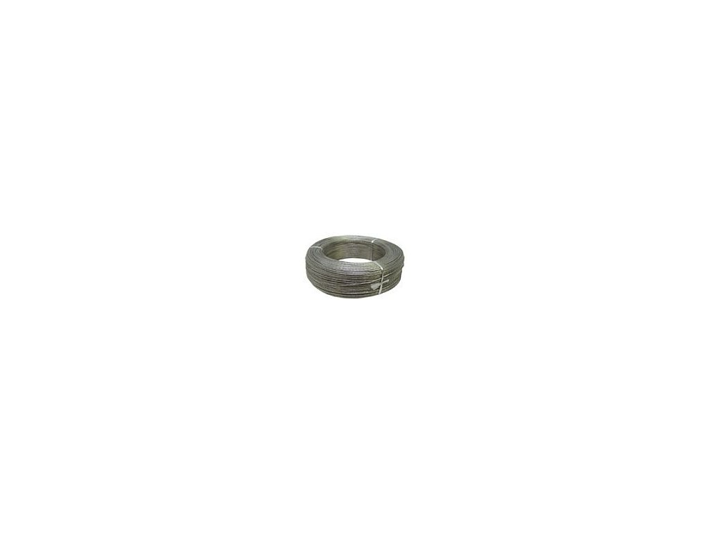 Ohradníkové ocelové lanko 1,2 mm