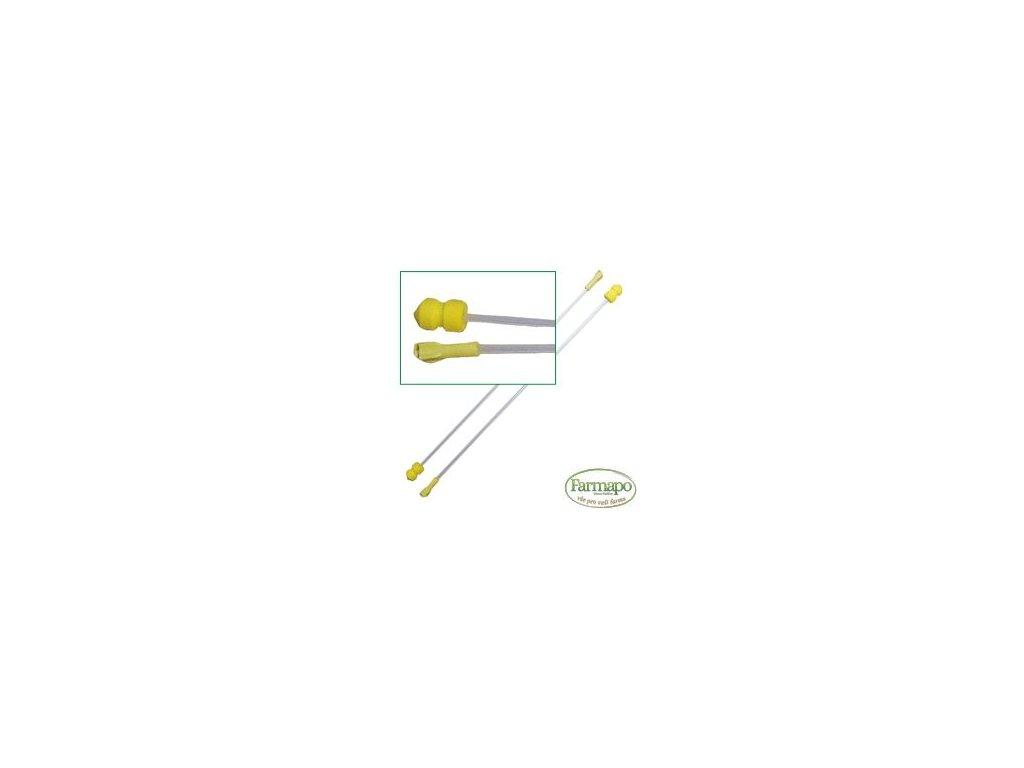 A 1 - zavaděč pěnový pro prasnice, žlutý s přechodkou
