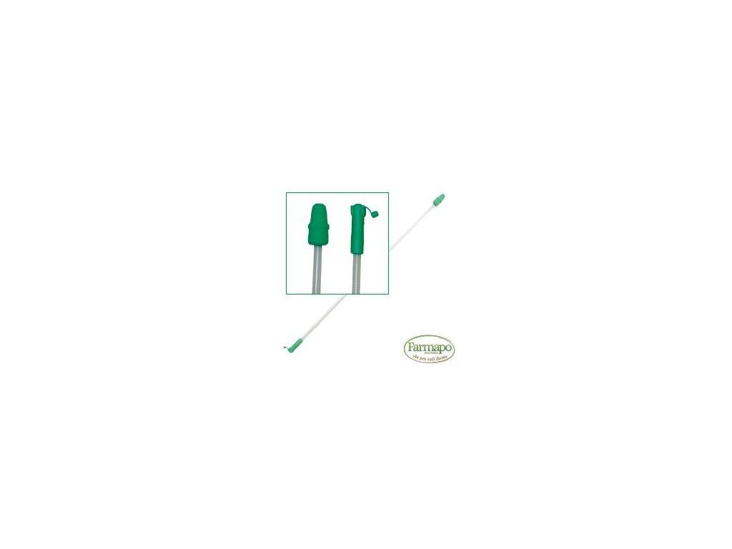 C 1 - zavaděč pěnový pro prasničky zelený, s přechodkou