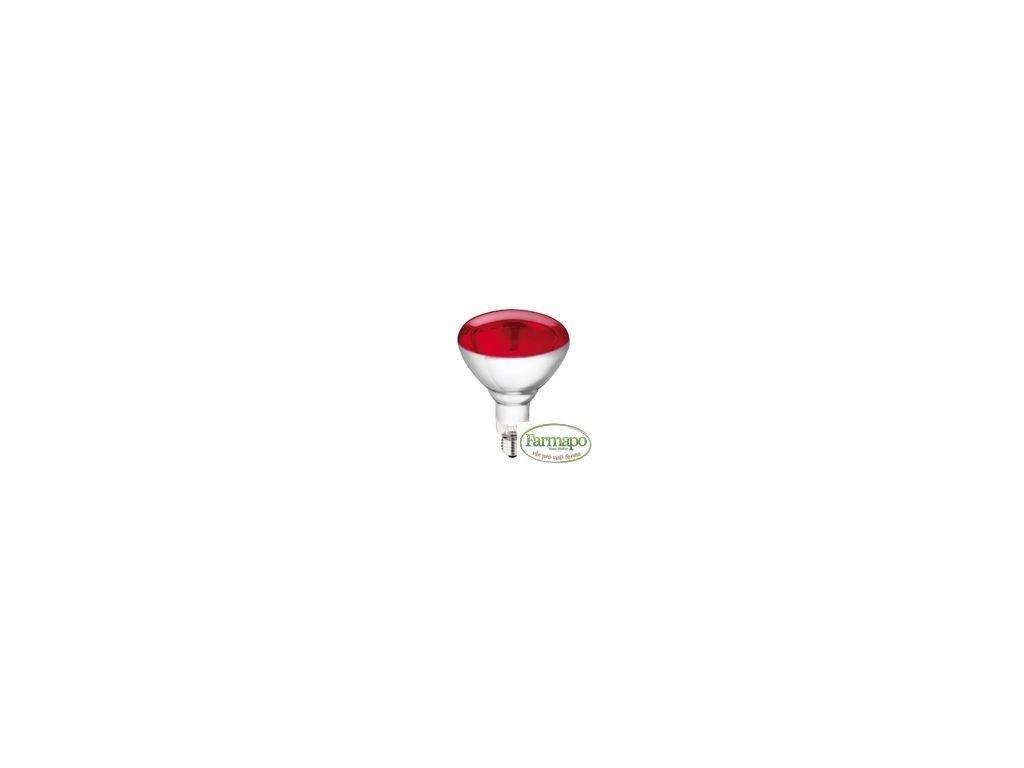 Infračervená žárovka Philips Hg červená, 150 W