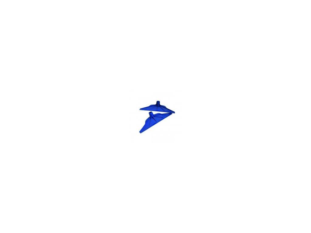 H038P0019 stěrka na kejdu modrá