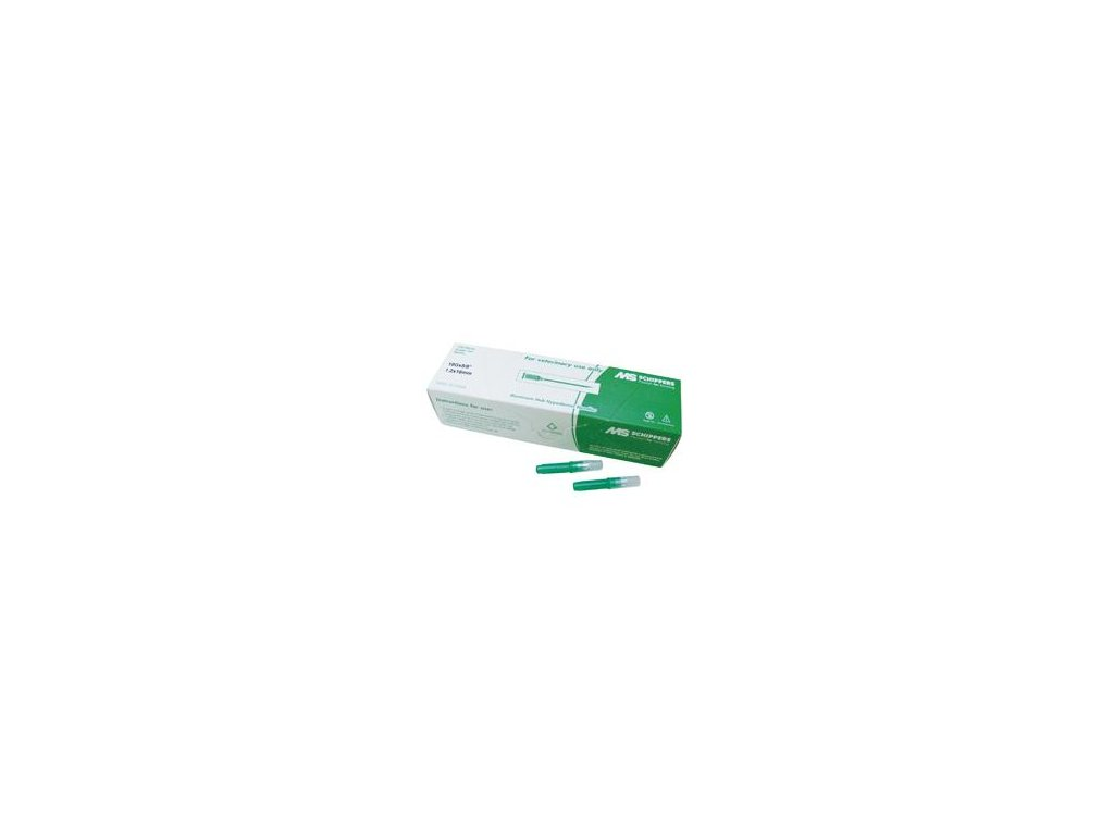 GES ALU - hub hypodermická jehla LL, 1,2 x 16 mm