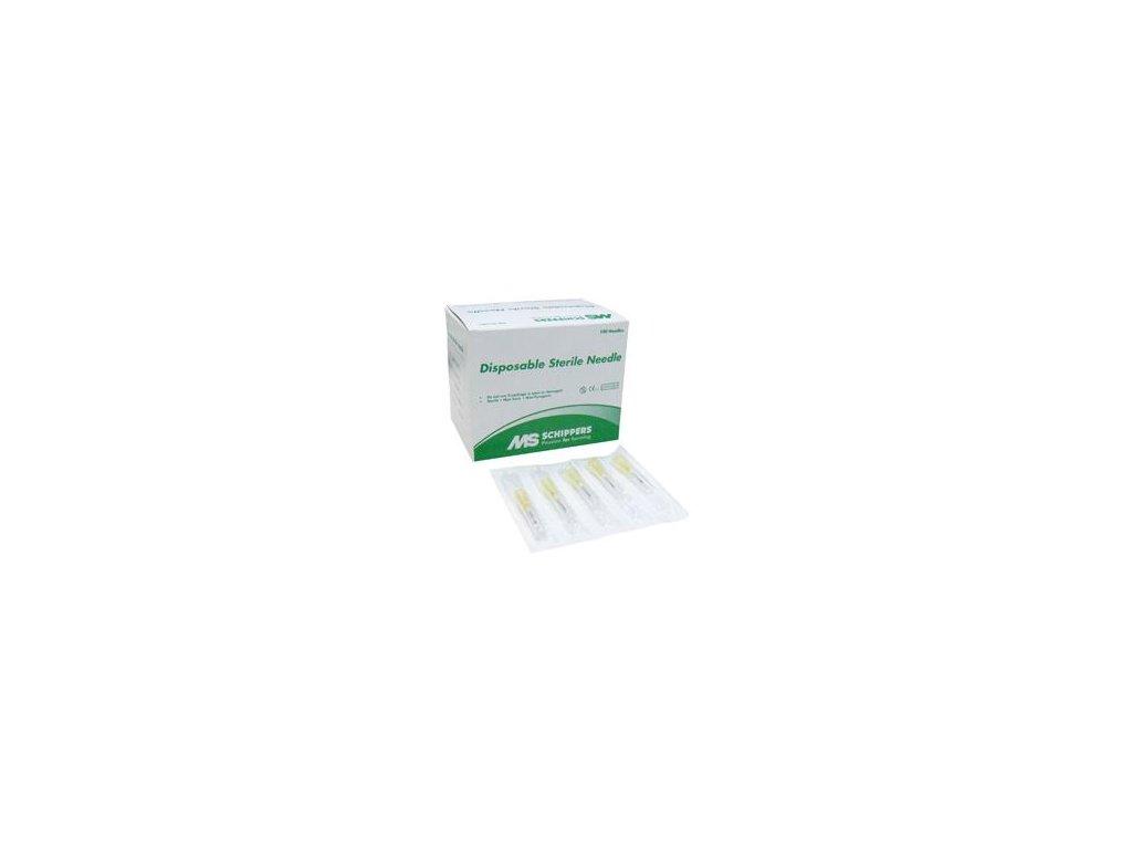 GES jednorázová injekční jehla, 0,8 x16 mm