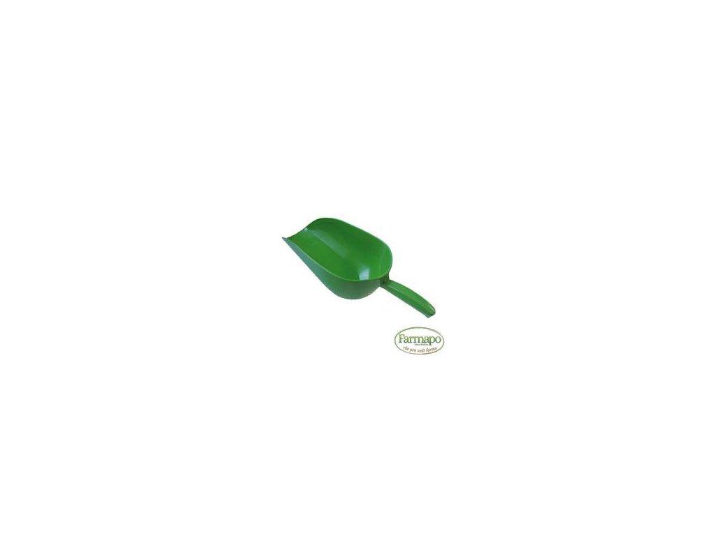 Plastová lopatka odvažovací s rukojetí