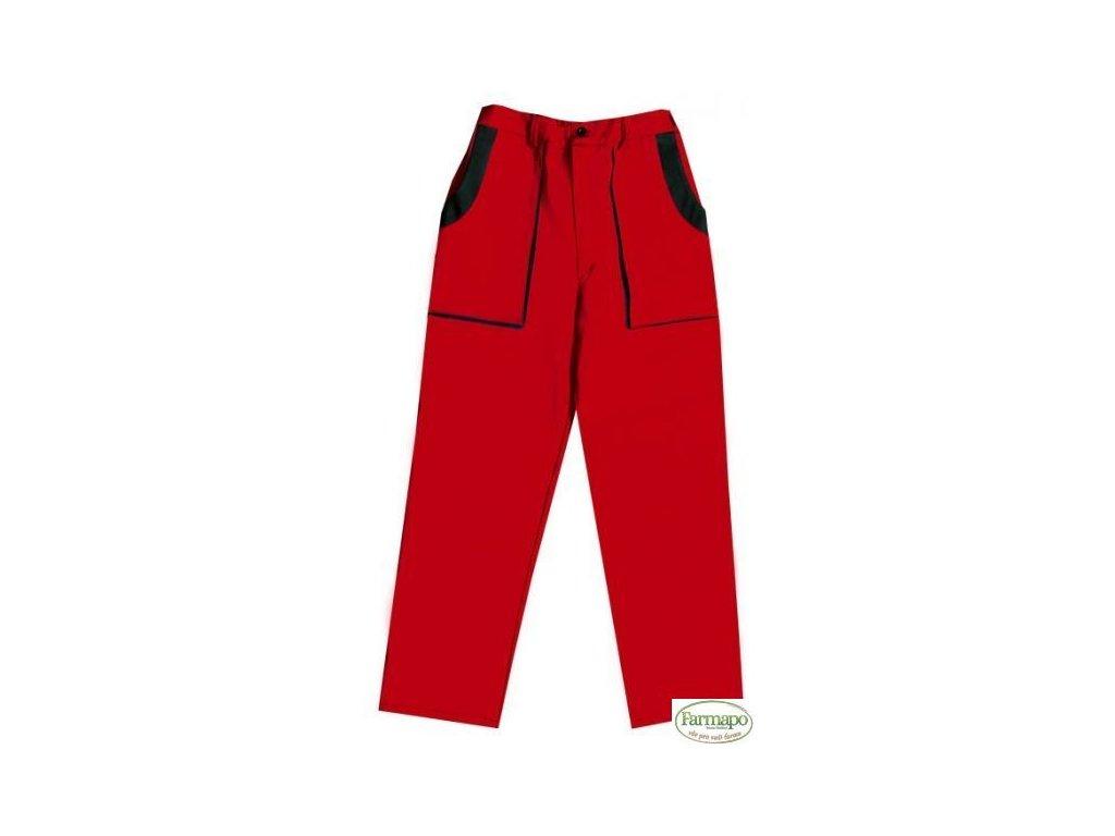 Kalhoty do pasu, pánské, červeno/černé